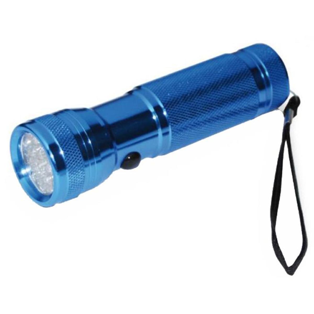 Camor Taschenlampe aus Aluminium 12 Led - U.V. Ultraviolett