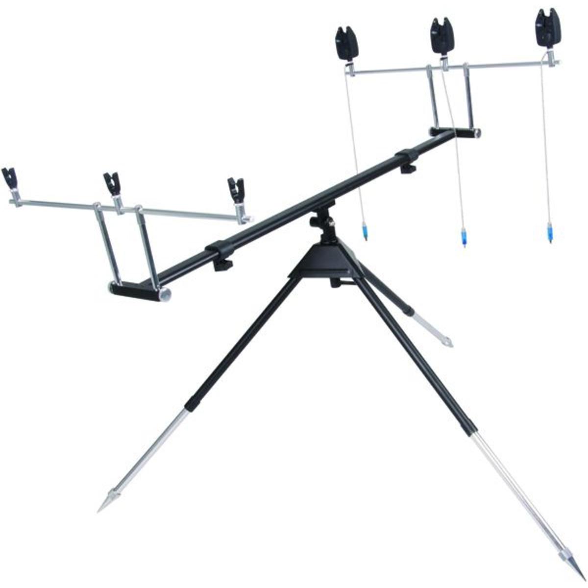 Carp Spirit Rod Pod Kit 3 Rods - Colore Black