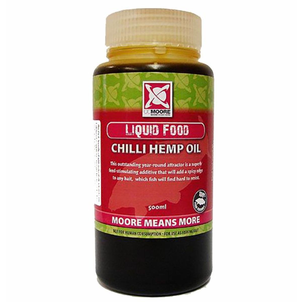 CC Moore Chilli Hemp Oil - 500 ml