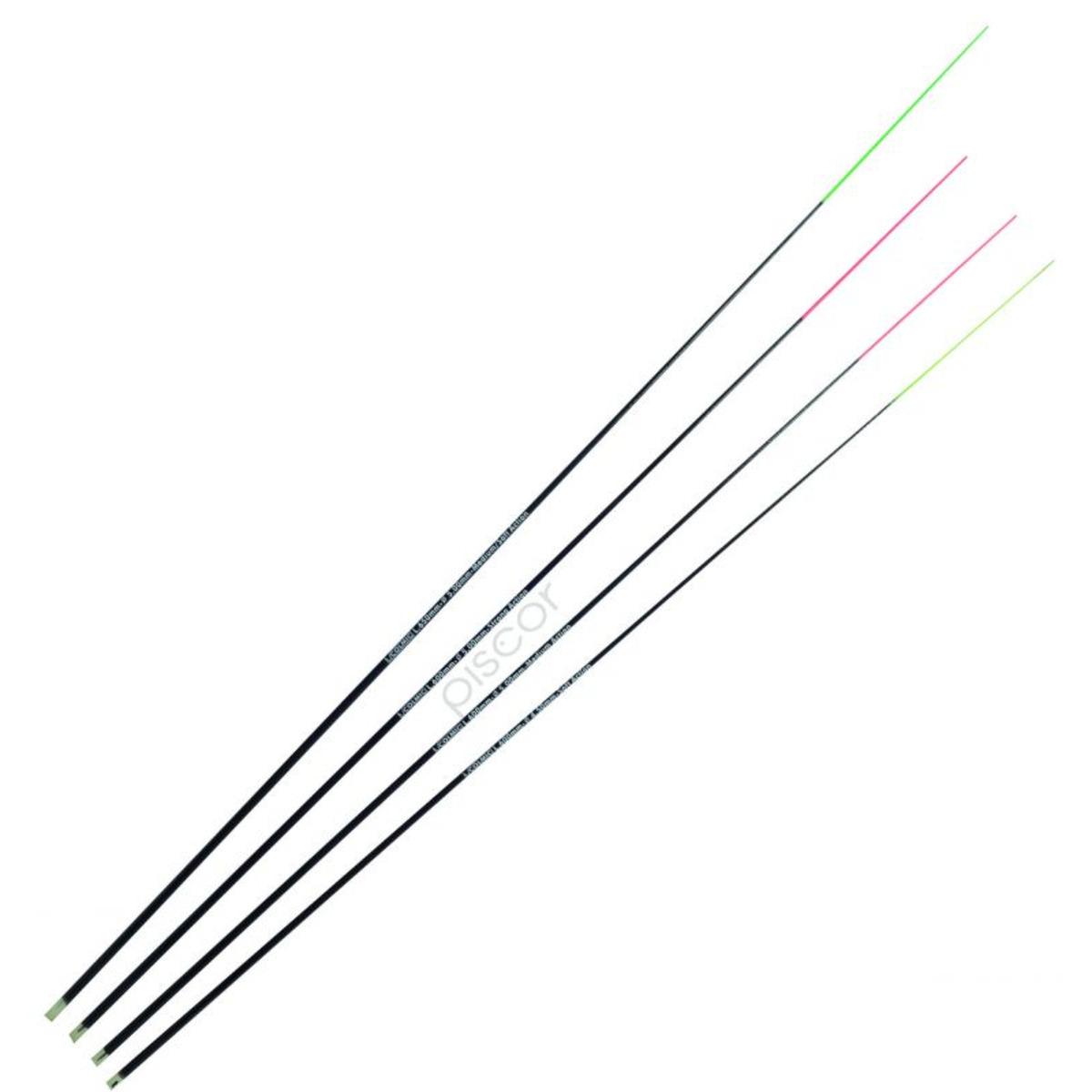 Colmic Pico Fiberglass Medium - Strong 600 mm - Medium-Strong - Desnuda - Naranja
