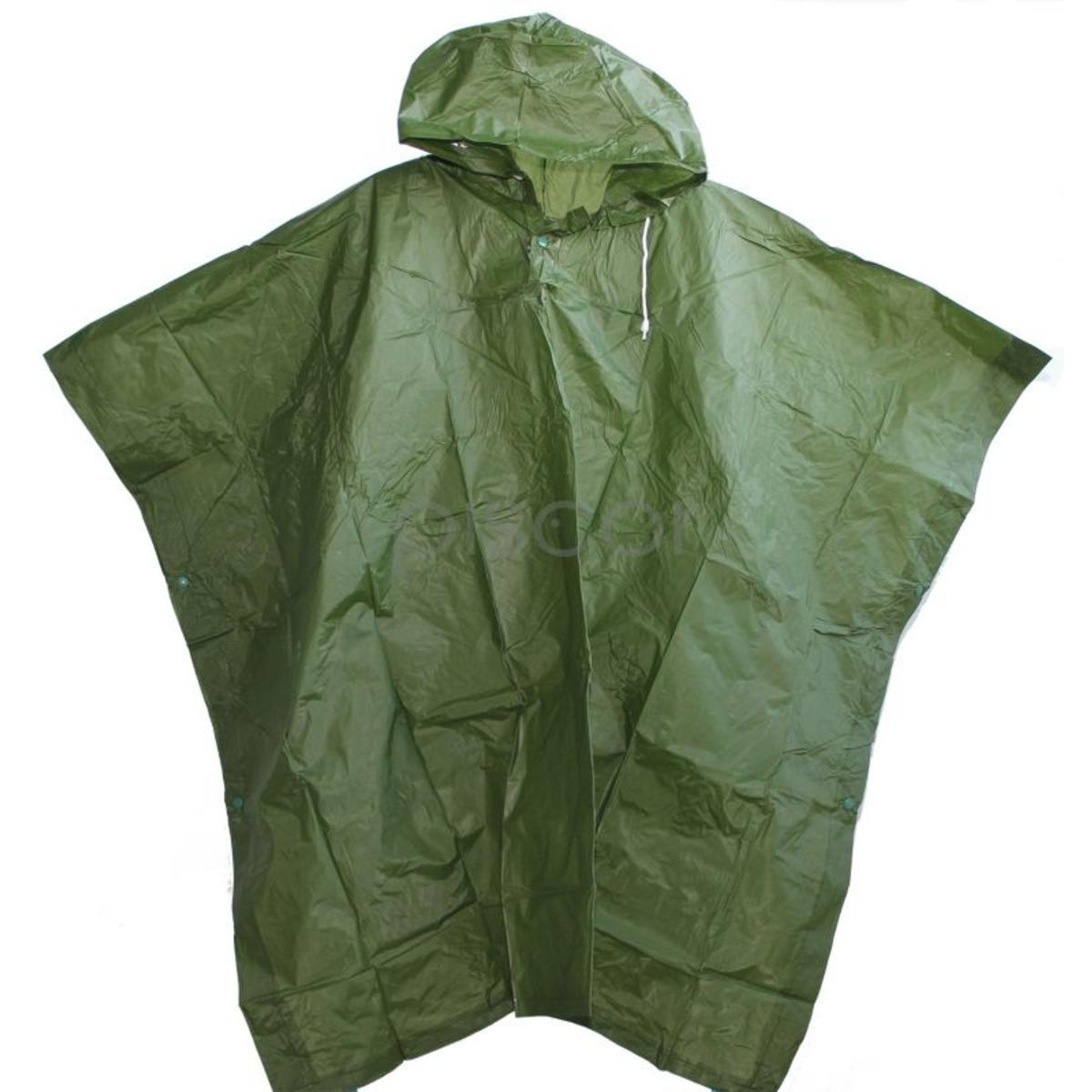 Contumax Poncho PVC Verde - 50x80 cm - Verde
