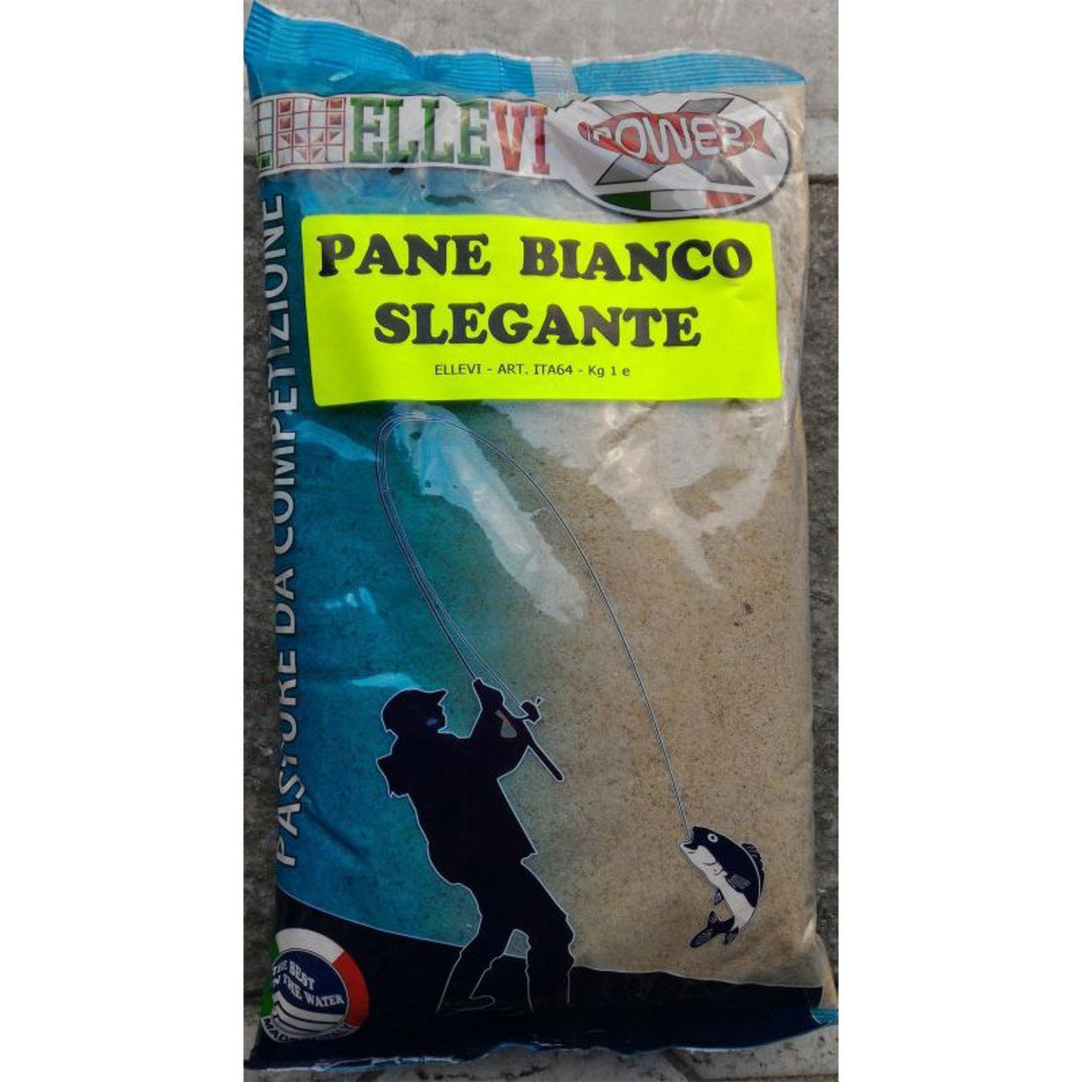 Ellevi Pane Bianco Slegante - Bianco - 1 kg
