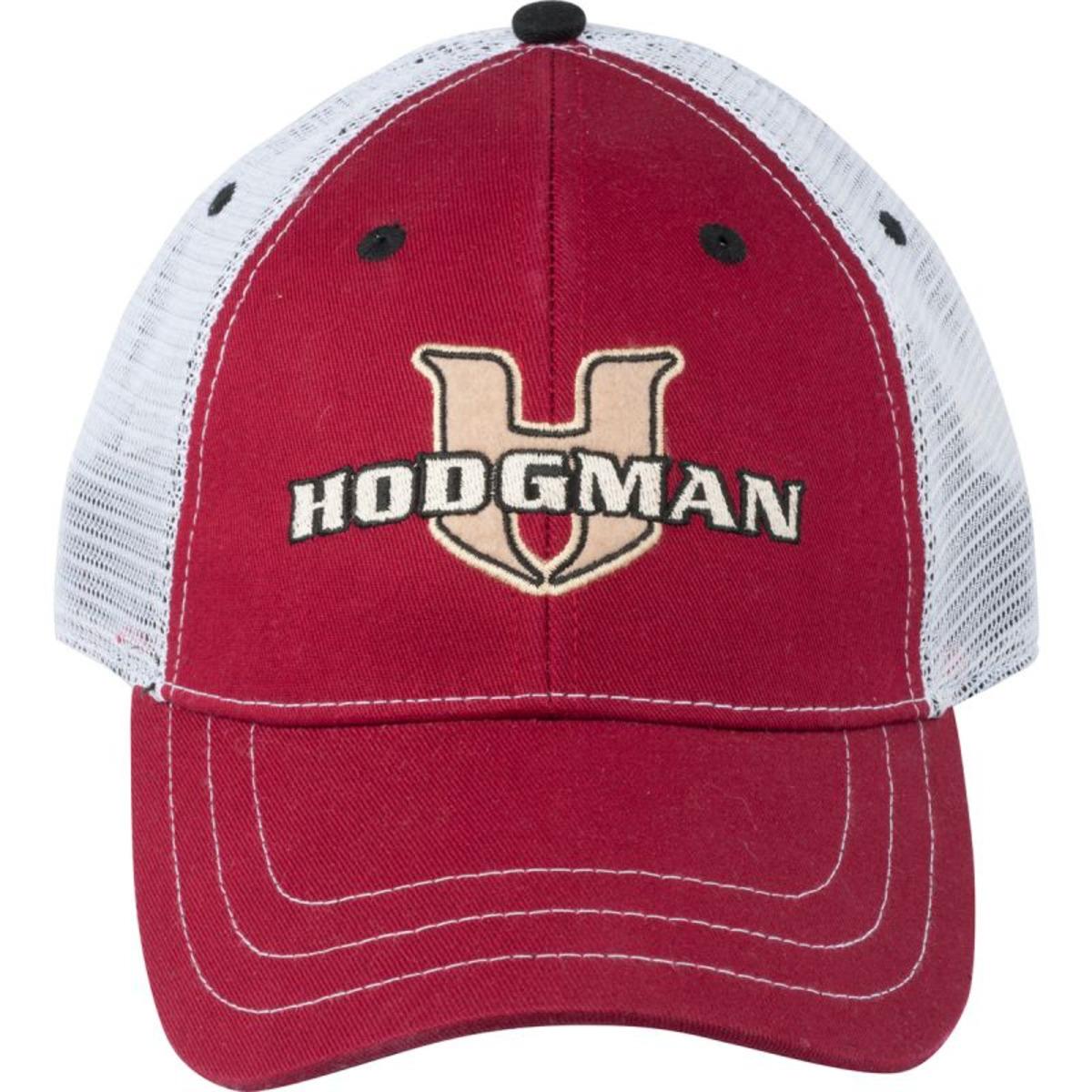 Hodgman Casquette Trucker Patch - Taille Unique - Couleur Rouge Grenadine