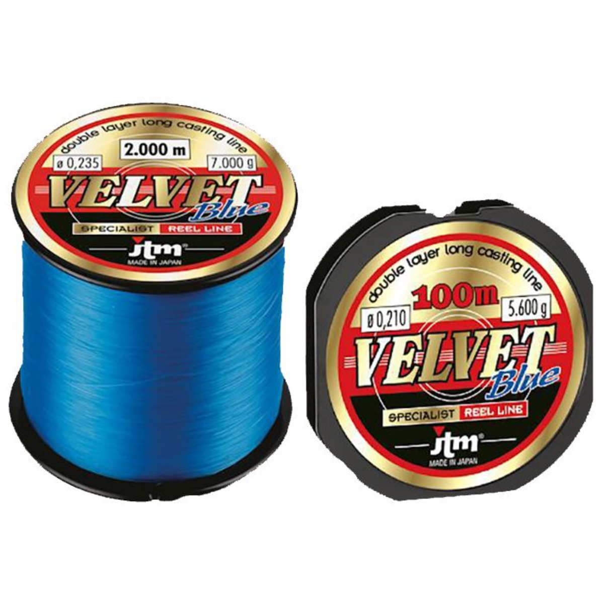 JTM Velvet Blue - 0.169 mm - 3800 m