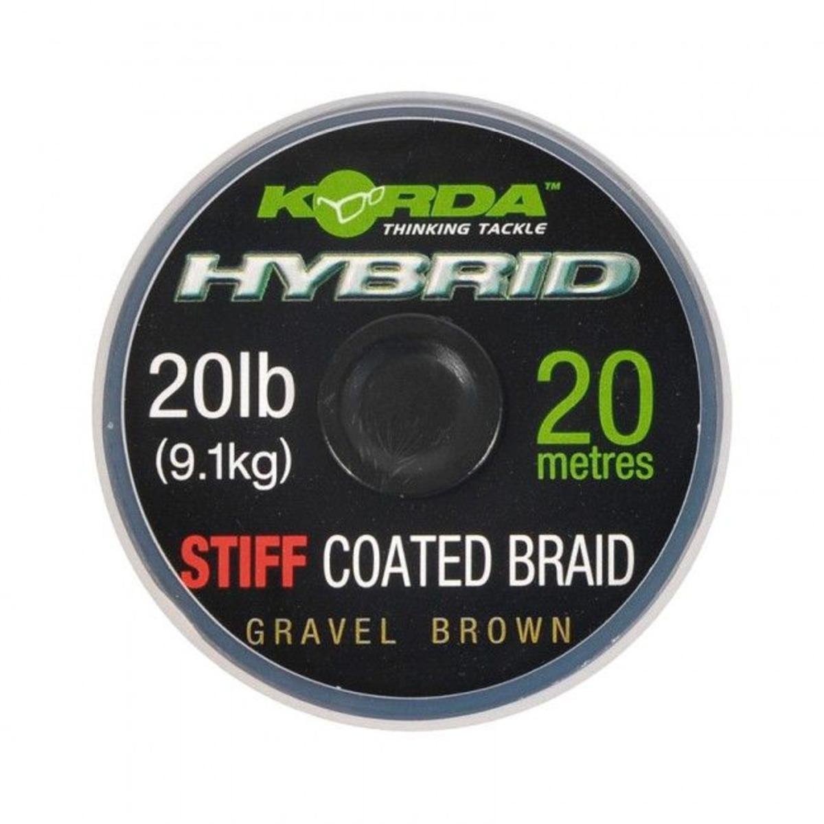 Korda Hybrid Stiff - 20 lb - Weedy Green