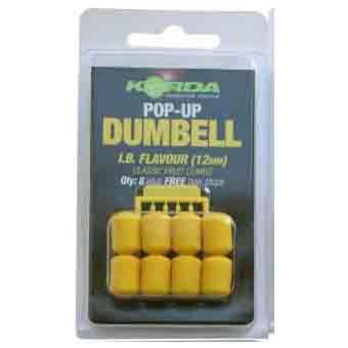 Korda Pop Up Dumbell - IB 16 mm
