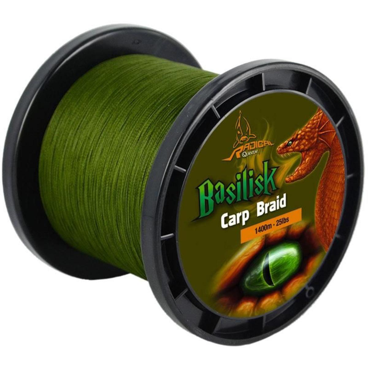 Radical Basilisk Carp Braid - 0.23 mm - 1400 m