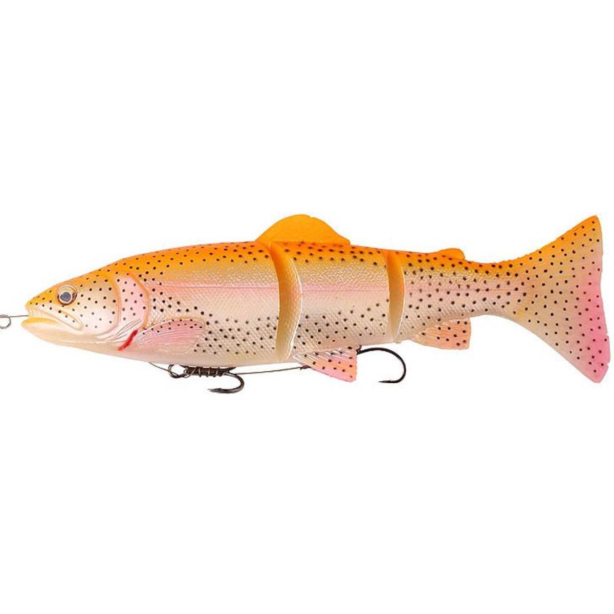 Savage Gear 3D Trout Line Thru - 15 cm - 35 g - Golden Albino