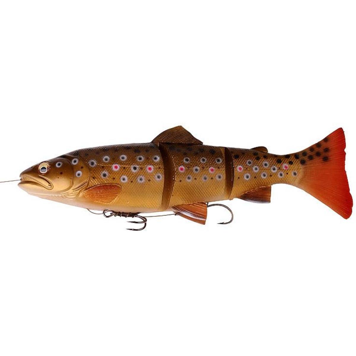 Savage Gear 3D Trout Line Thru - 15 cm - 40 g - Dark Brown Trout
