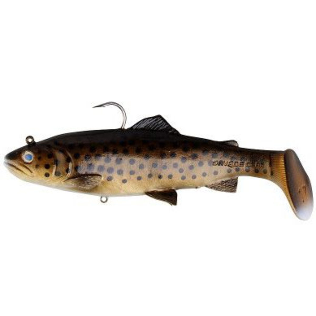 Savage Gear 3D Trout Rattle Shad - 20.5 cm - 120 g - Dark Brown Trout