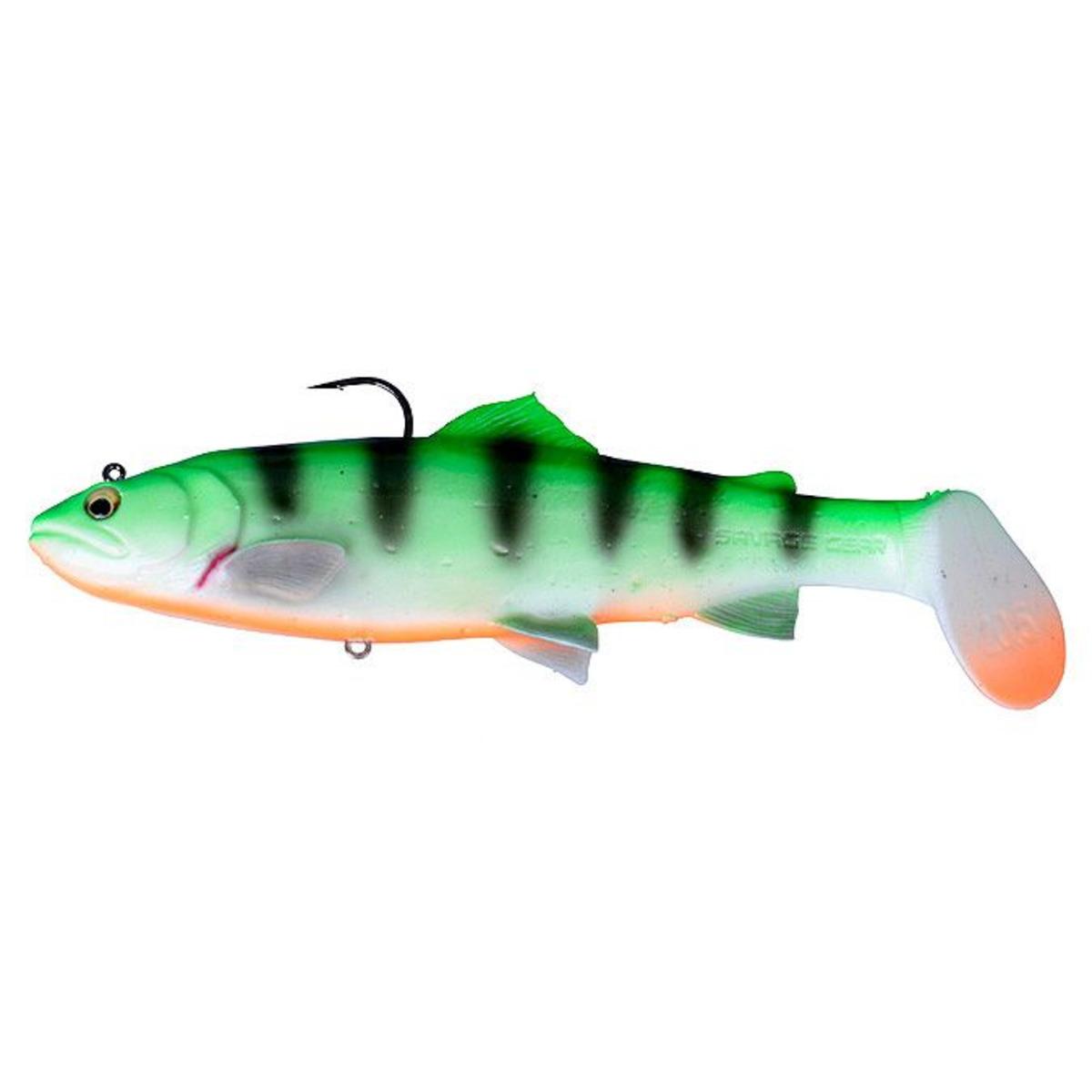 Savage Gear 3D Trout Rattle Shad - 20.5 cm - 120 g - Firetiger