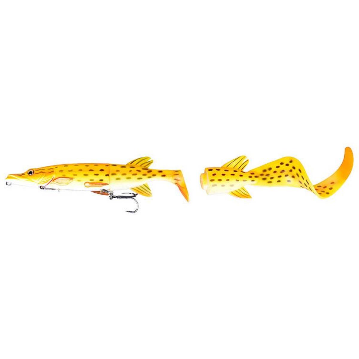 Savage Gear Hybrid Pike - 25 cm - 130 g - Albino Pike - Amo n.1/0 + 2/0