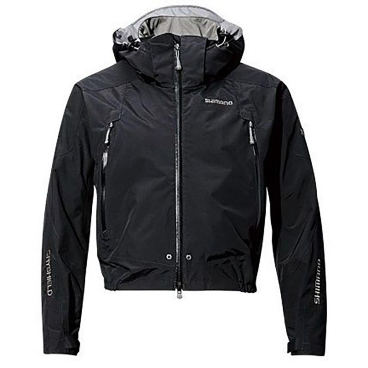 Shimano Jacke Dryshield Advance Short Rain - L - Black