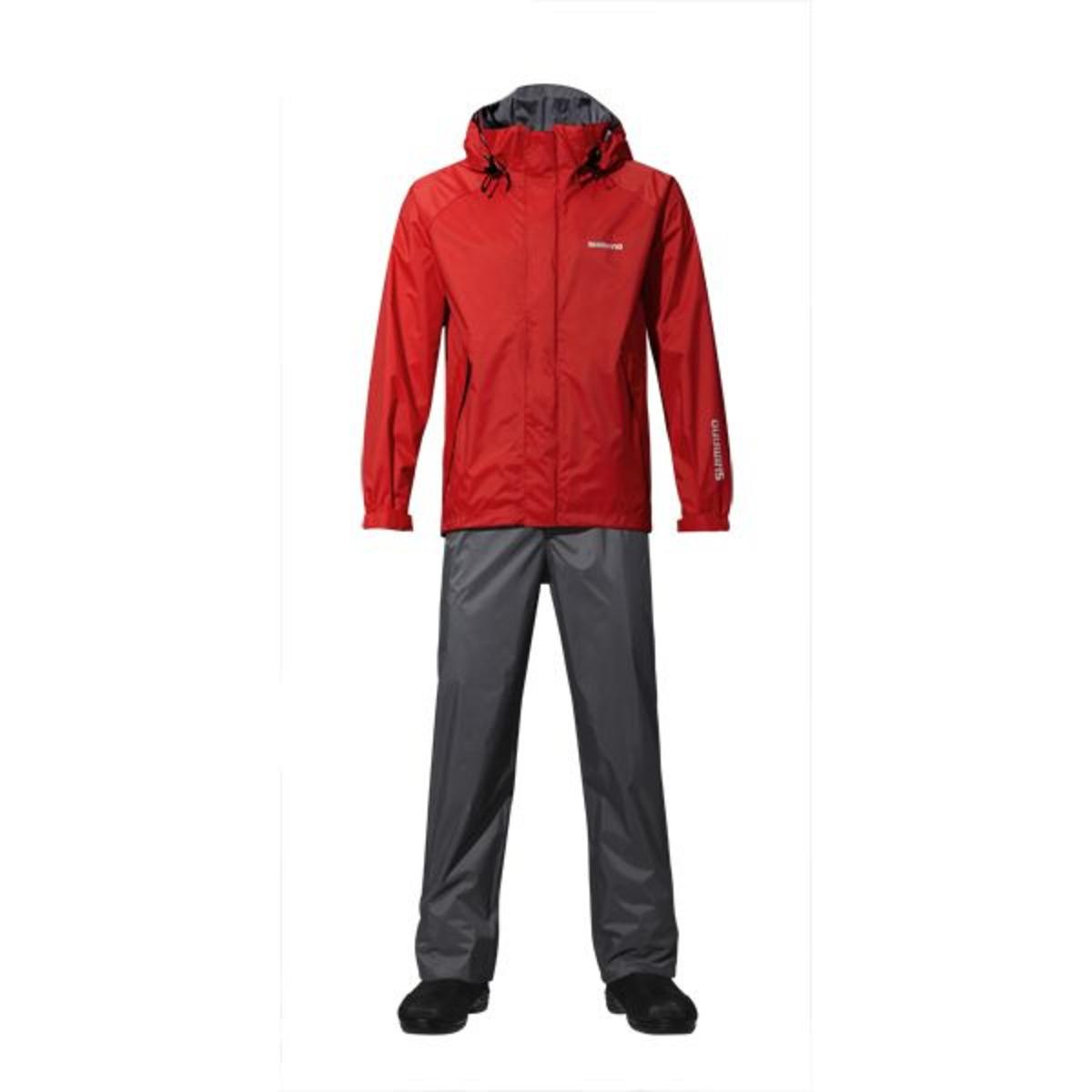 Shimano Jacke Dryshield Basic - L - Red
