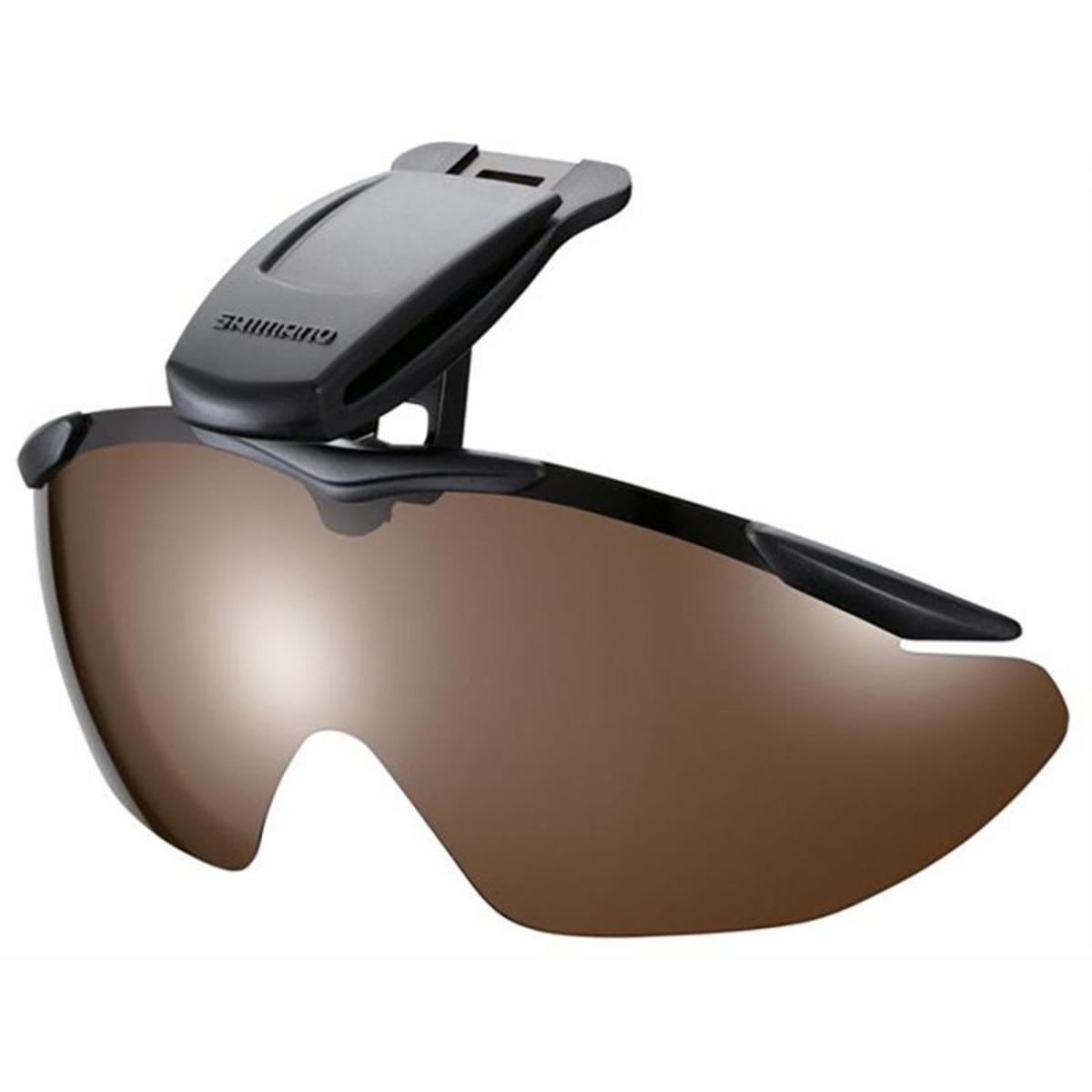 Shimano Brille mit Cap Clip - Linsen Rauch