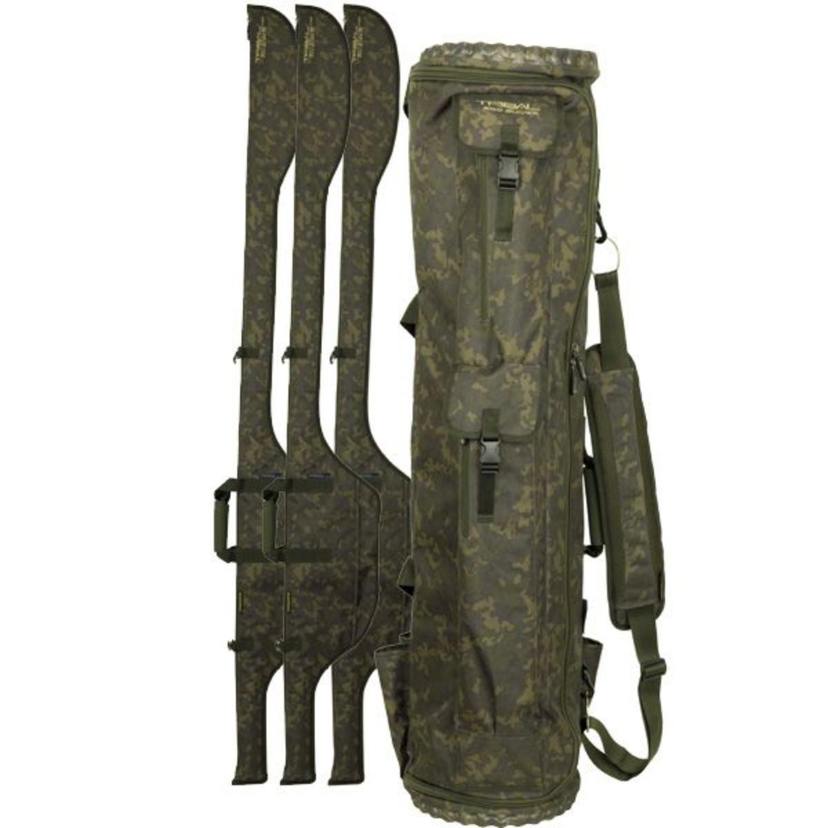 Shimano Tribal XTR 6 Rod Quiver - Single 10 ft-11 ft - 30 x 130 cm-L=210 cm