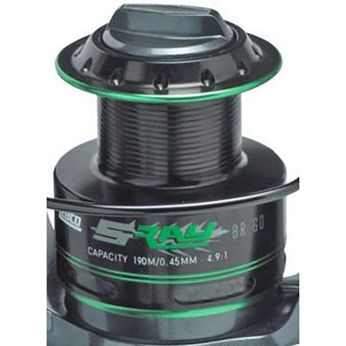 Zebco Ersatzspule S-Ray Br - 4000 - Aluminium