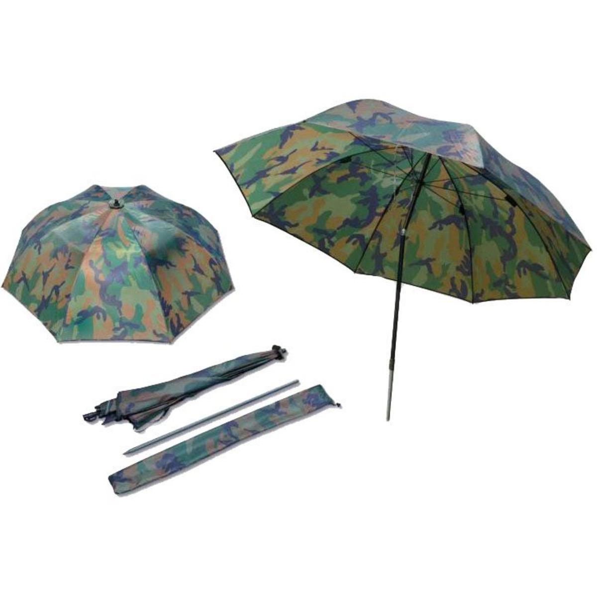 Zebco Nylon Camou Umbrella - 2.20 m