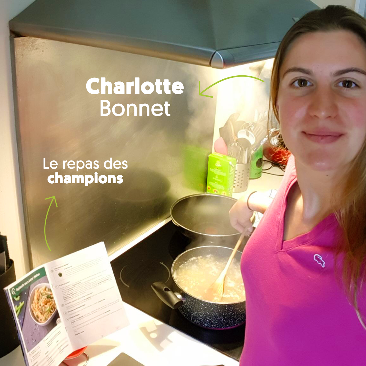Charlotte Bonnet cuisine Quitoque