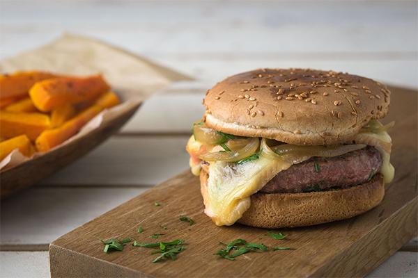 Recette du burger au munster