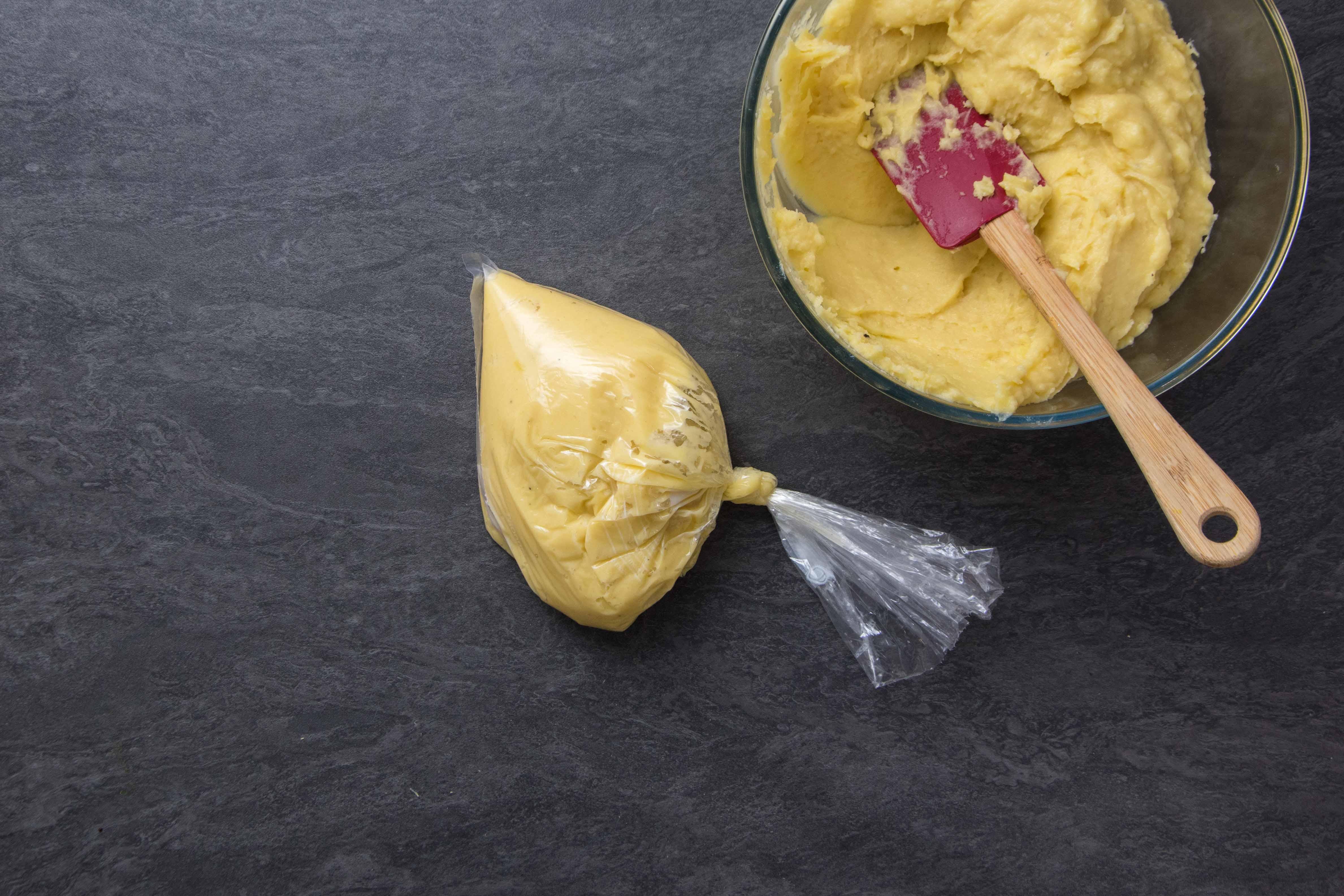 Recette pommes dauphines - étape 2 : ferme la douche à douilles #2