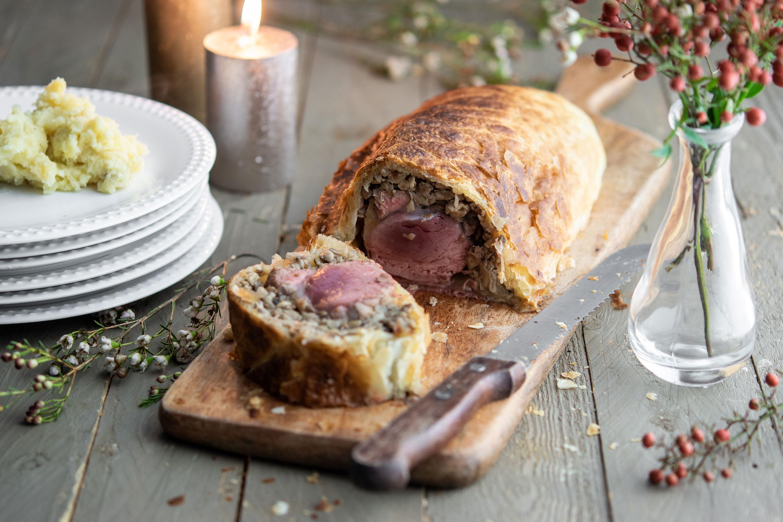 Recette du filet de porc en croûte, façon Wellington