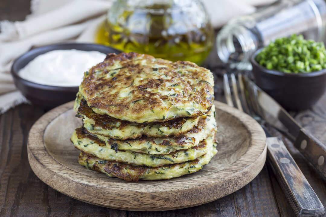 Pancakes de légumes