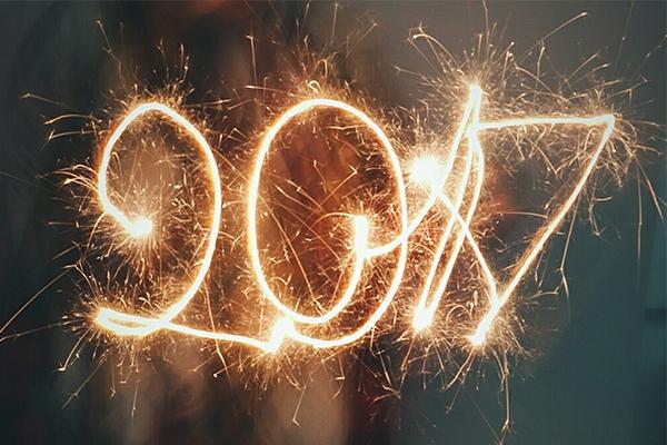 Des résolutions savoureuses et prometteuses pour l'année 2017