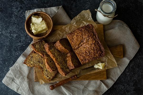 Banana bread : la recette du gâteau à la banane américain
