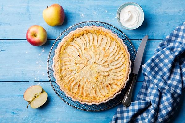 Tarte aux pommes : la recette normande gourmande et facile à réaliser