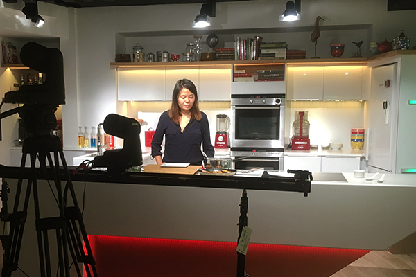 Recettes en vidéo : quand Chef Céline passe devant la caméra