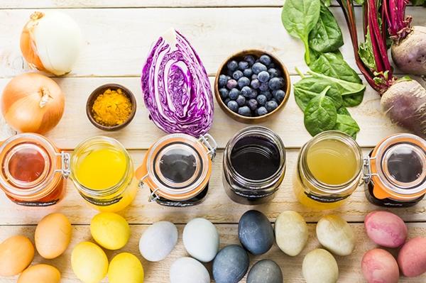 Comment teindre des œufs durs pour les rendre plus colorés ?