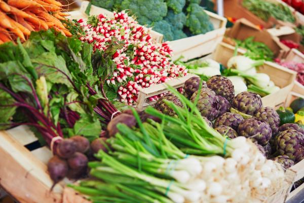 Fruits et légumes de saison : le calendrier du printemps