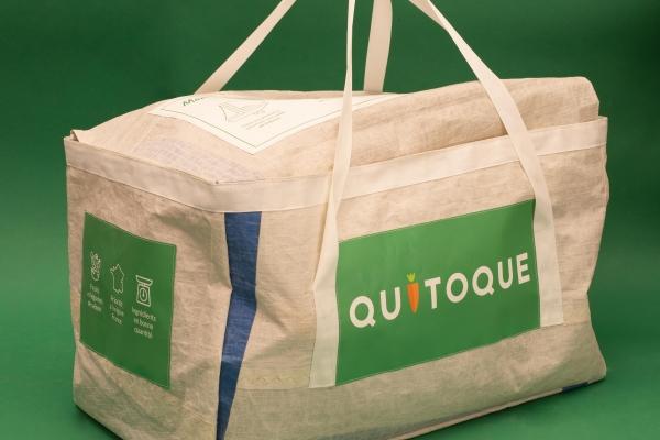 Test pilote : Quitoque remplace son carton de livraison par un cabas réutilisable et solidaire