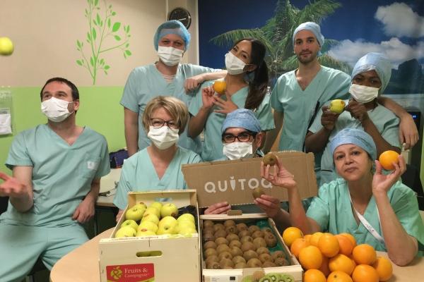 Quitoque s'engage aux côtés des soignants