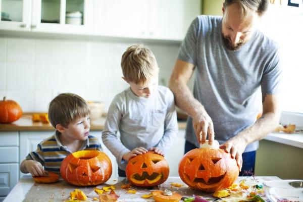 Une déco d'Halloween 100% écolo