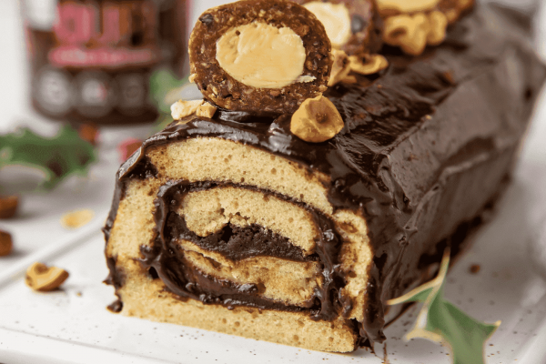 Quitoque X Funky veggie : la bûche roulée au cacao