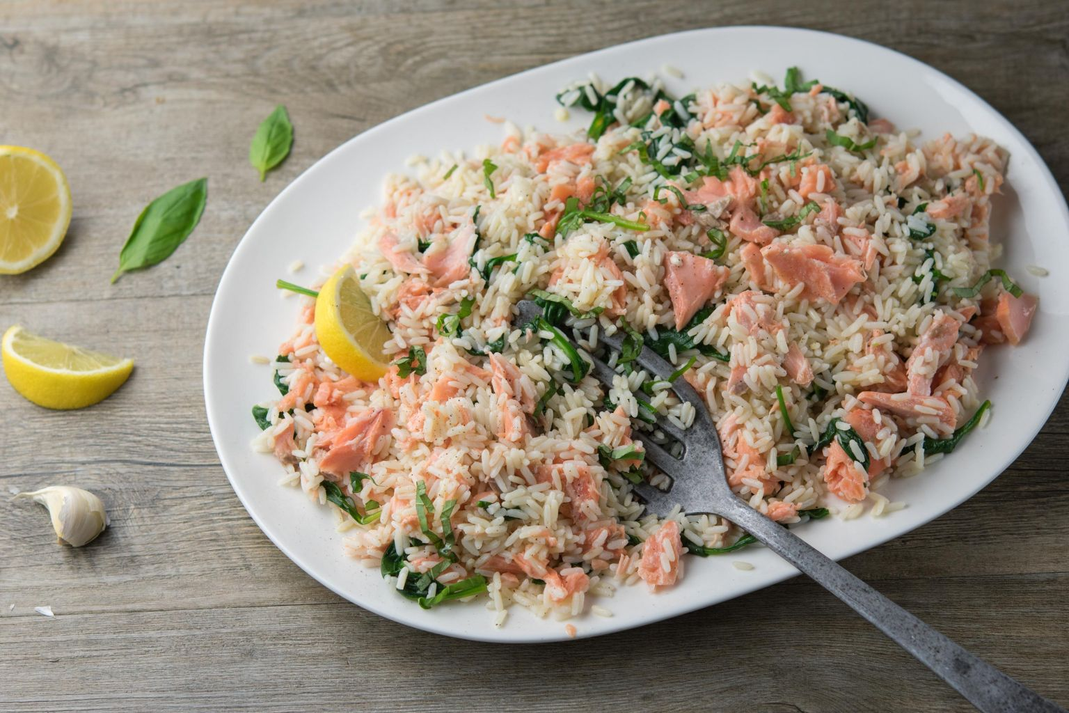 riz au saumon