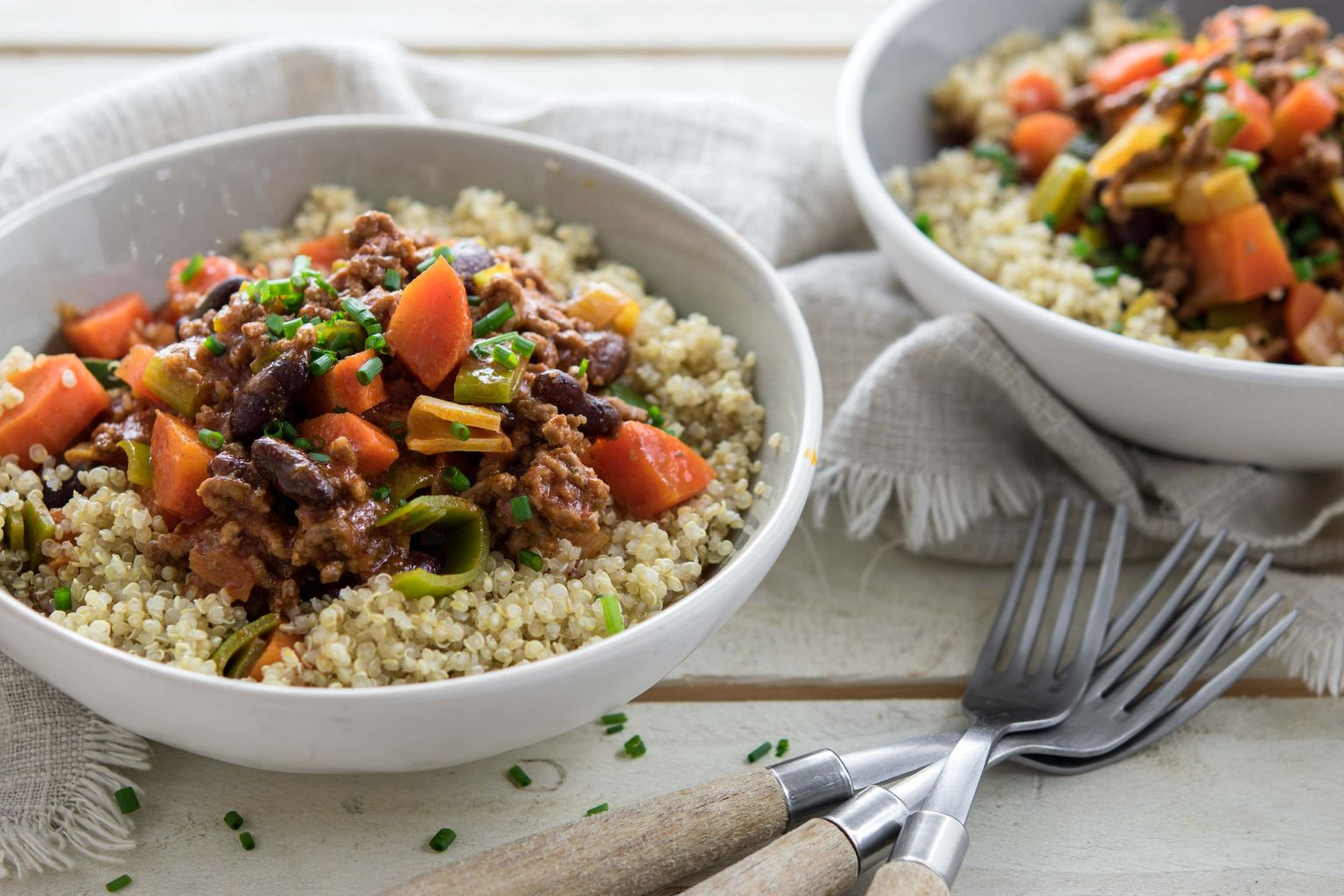 Chili con carne au quinoa