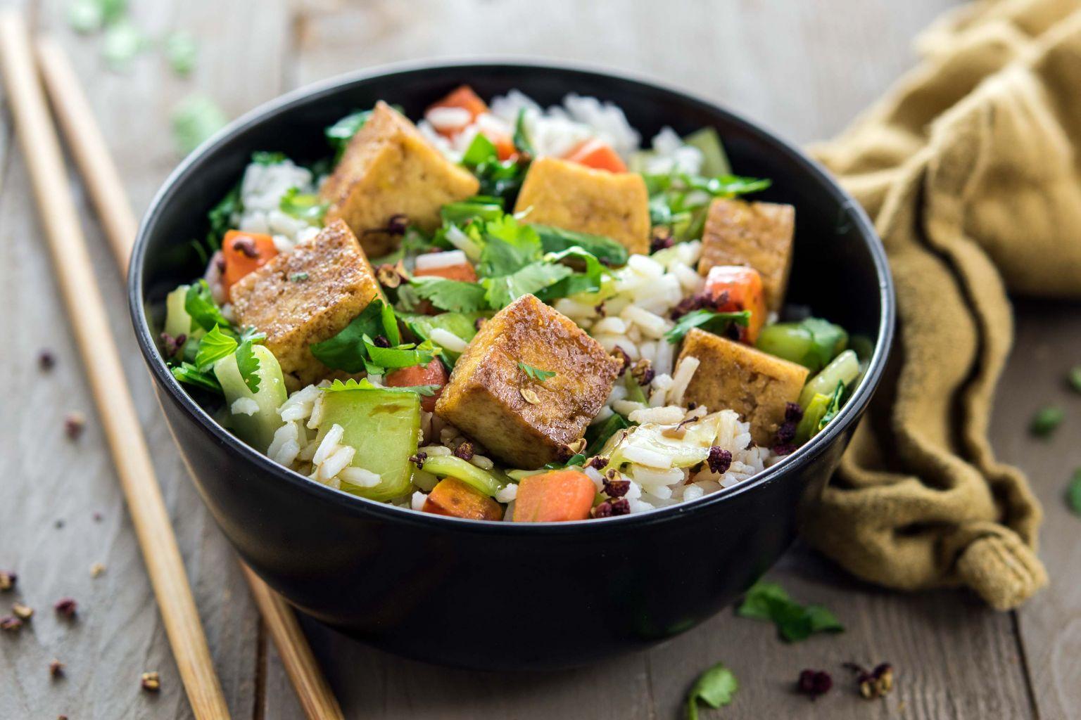 Recette de mapo tofu, au poivre de Sichuan