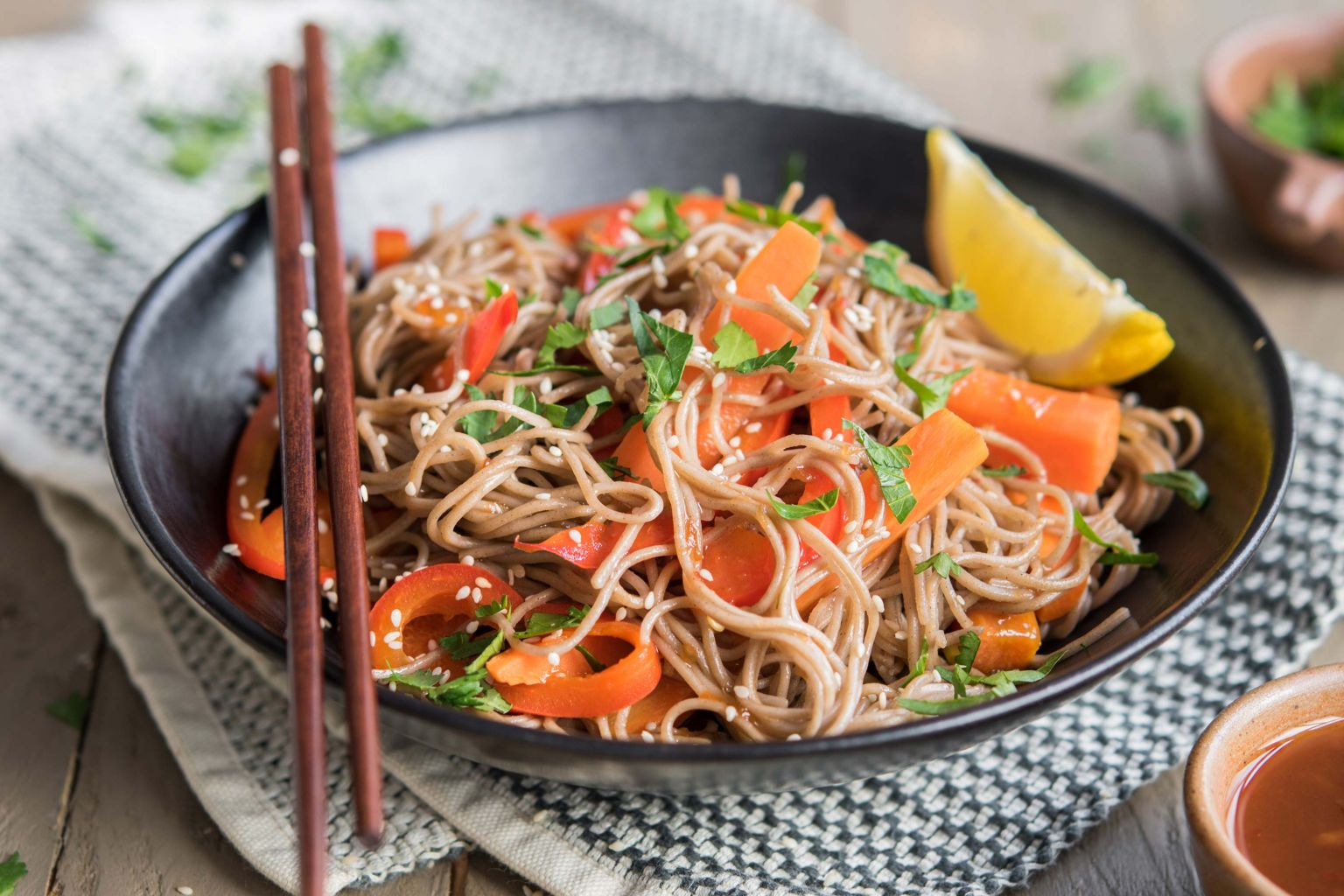 Veggie wok à l'aigre-douce