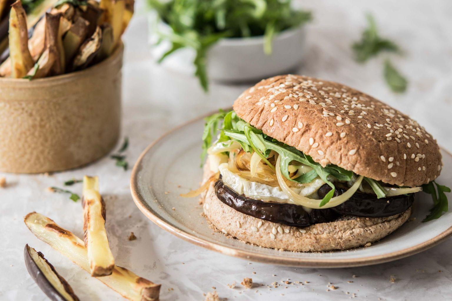 Burger veggie au pérail