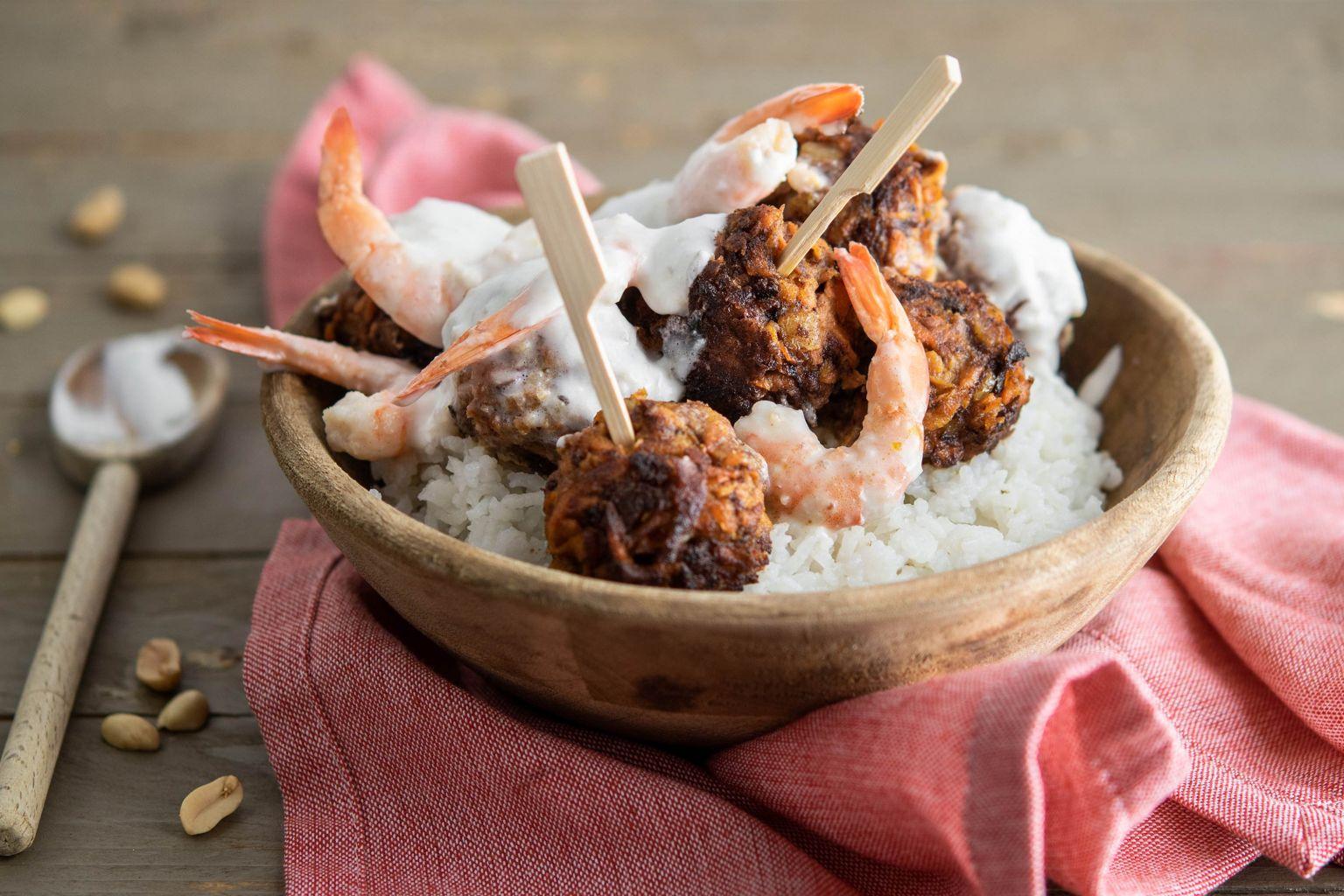 Acarajé aux crevettes