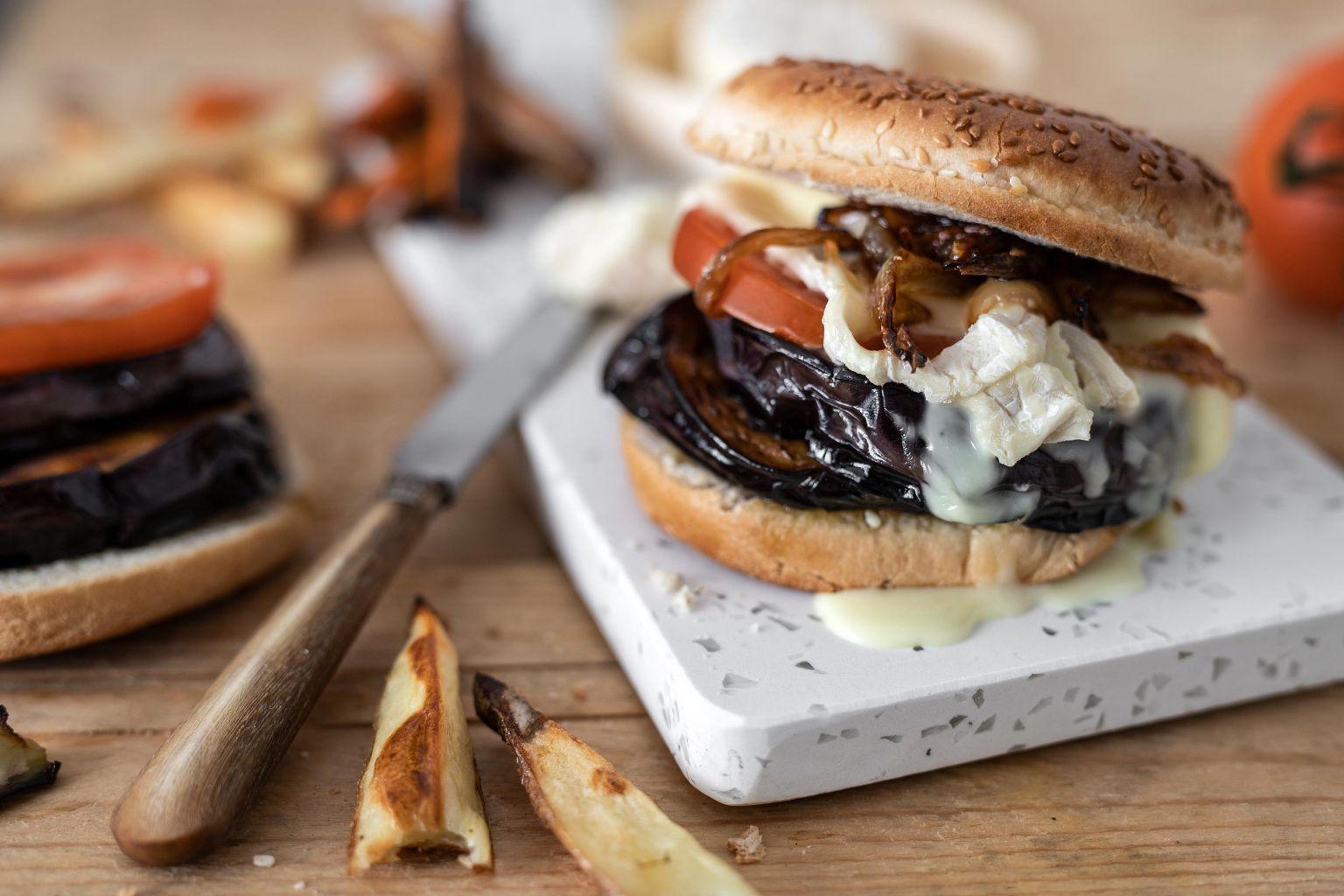 Burger veggie au pérail de brebis