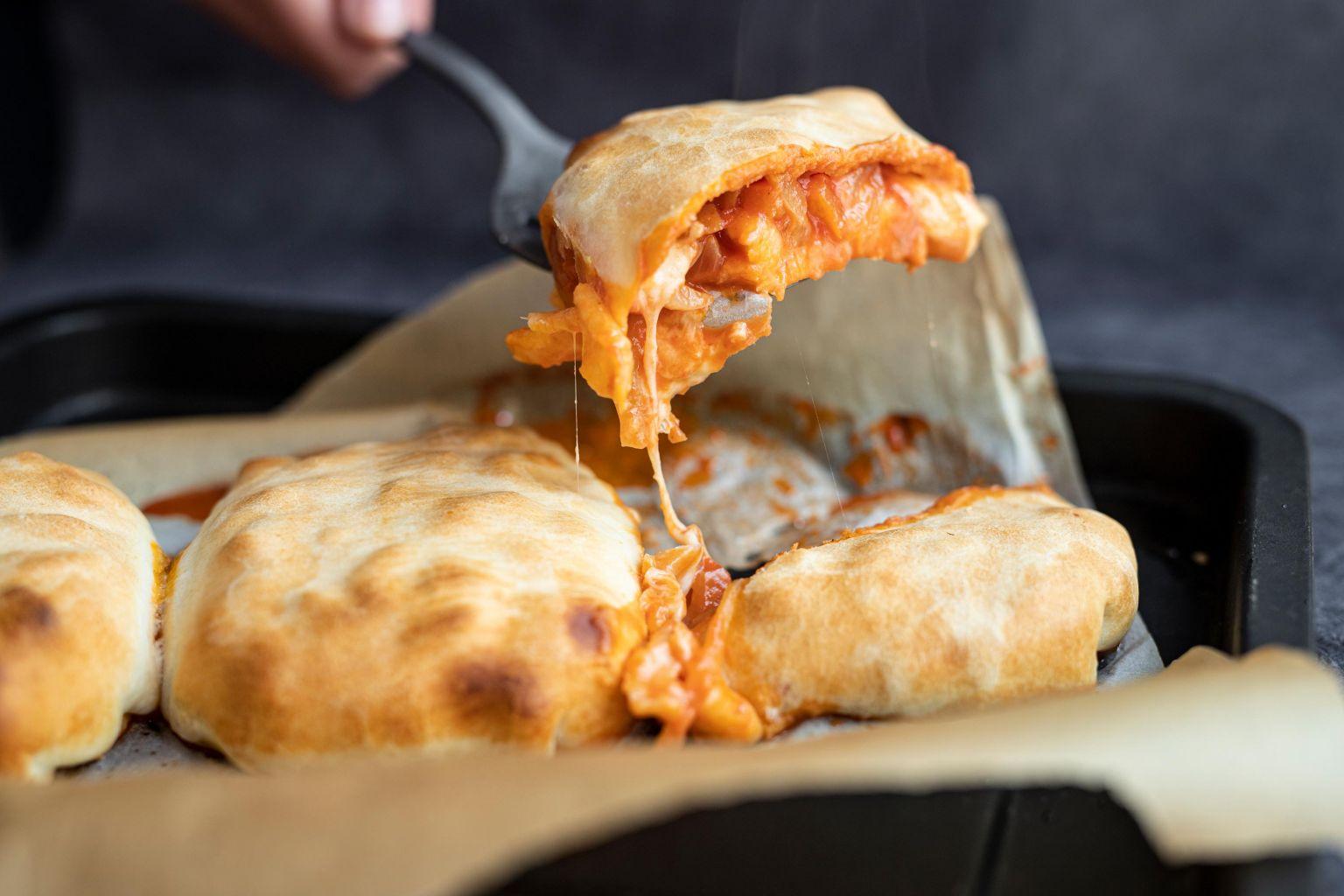 Chausson italien veggie à la mozzarella di bufala AOP