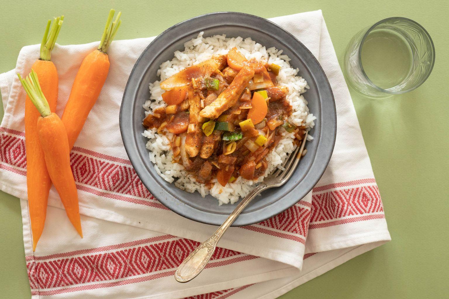 Curry de porc de Serge