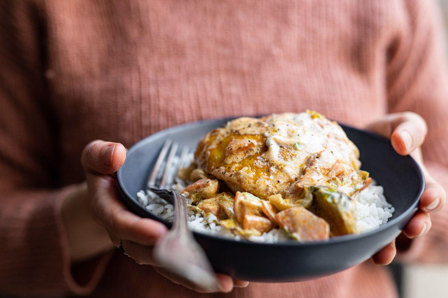 Cocotte de poulet tandoori