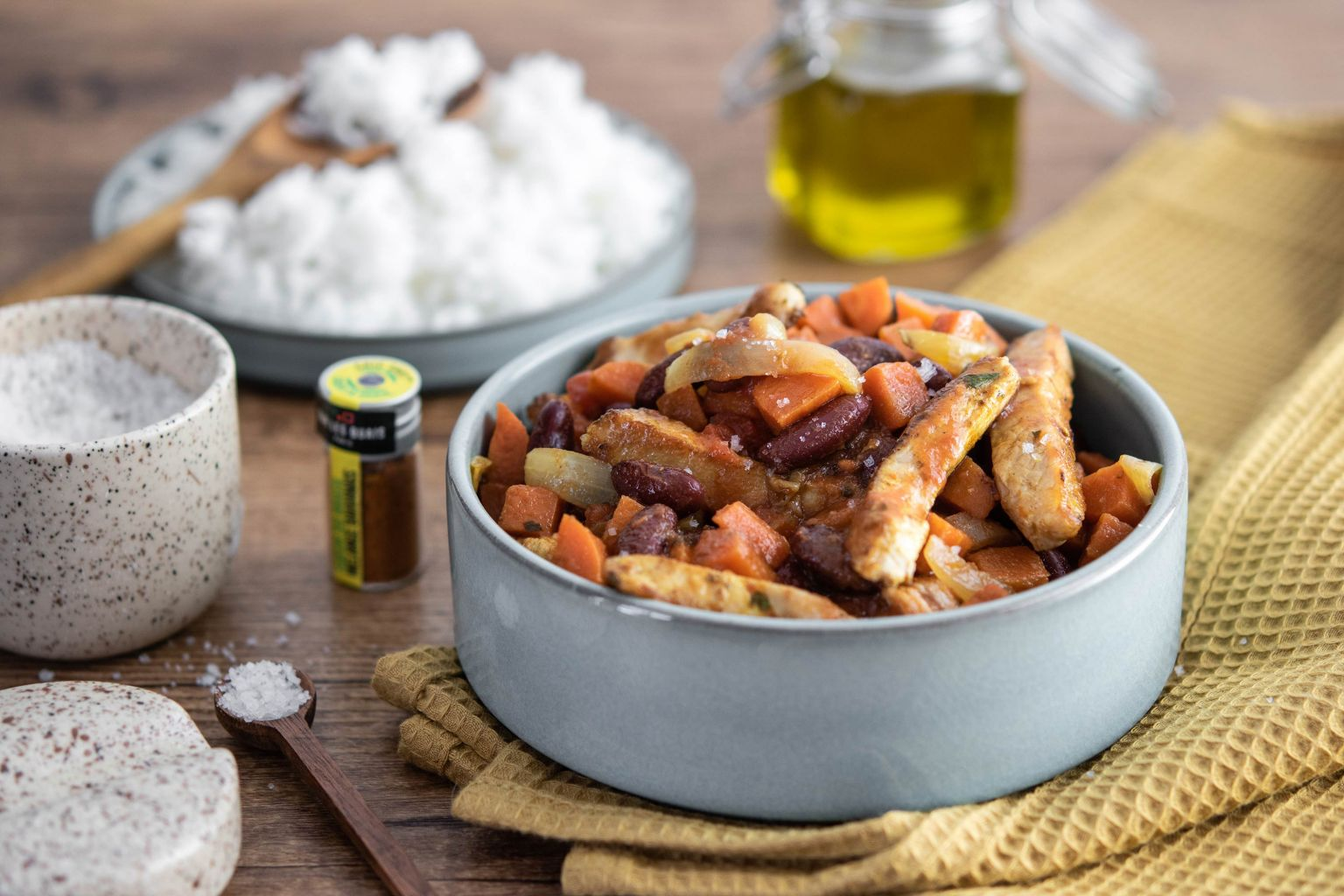 Mijoté de porc aux épices bahianaises