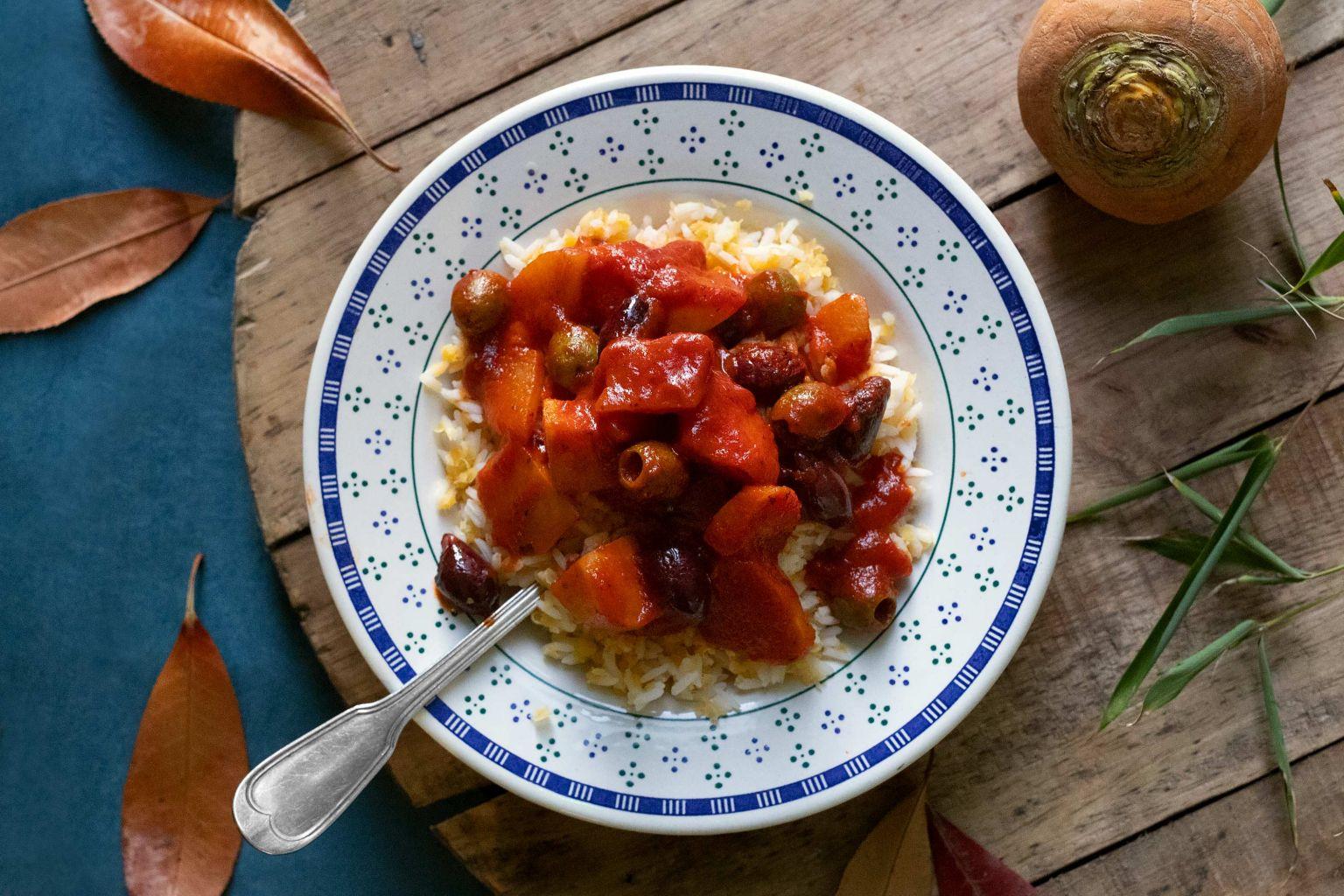 Mijoté d'automne aux olives