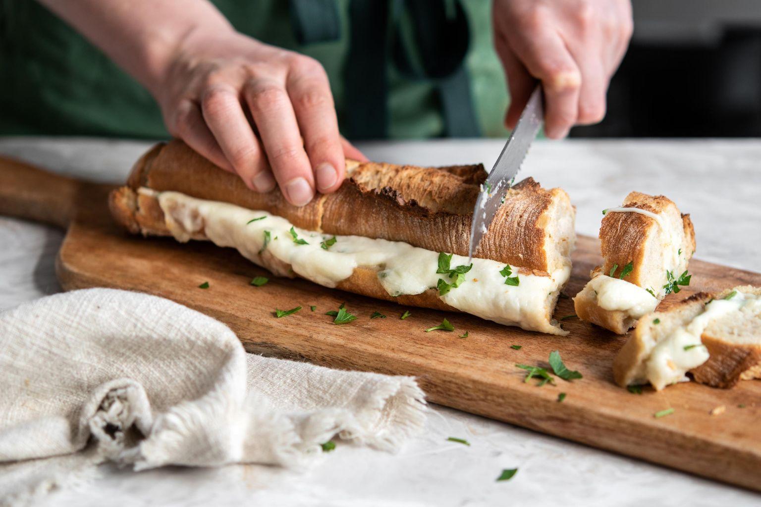 Pain façon préfou à la mozzarella